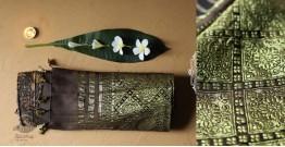 Celestial Decorations - Modal Silk Ajrakh Saree with Zari Pallu - 27