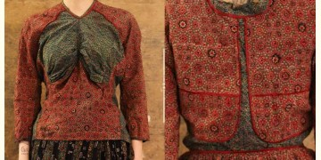 Flowers in a River ~ Traditional Kutchi Blouse ~ 6