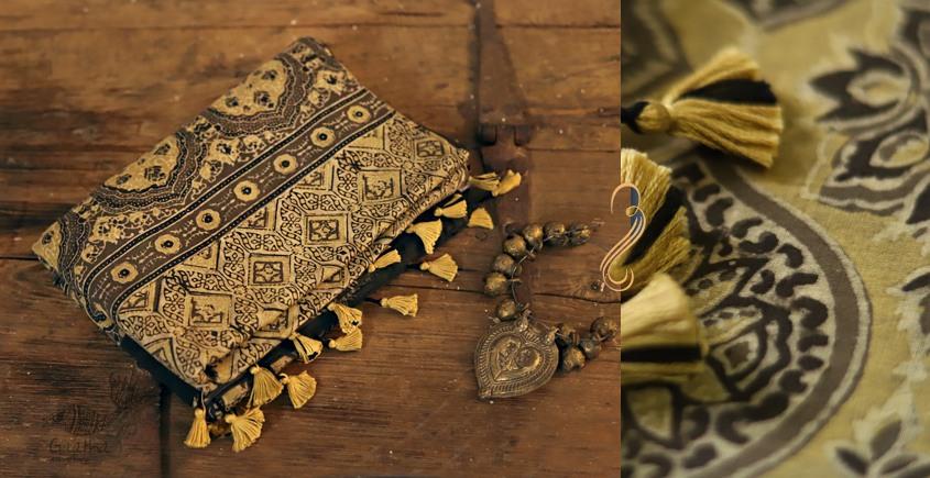 Sindhu ⚘ Ajrakh Mul Cotton Saree ⚘ Natural Dyed ⚘ { 119 }