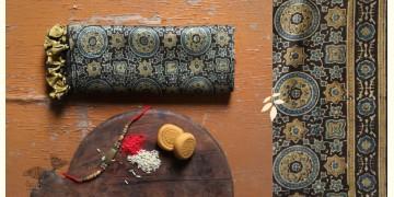 पर्व | Chanderi Ajrakh Stole - 2