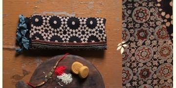 पर्व | Chanderi Ajrakh Stole - 8
