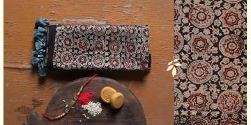 पर्व | Chanderi Ajrakh Stole - 11