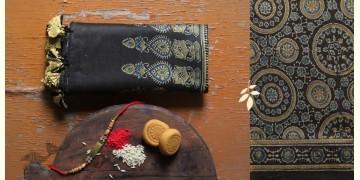 पर्व | Chanderi Ajrakh Stole - 18