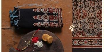पर्व | Chanderi Ajrakh Stole - 19