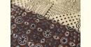 Ajrakh Chanderi Cotton Silk saree