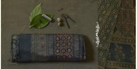 The Nutcracker's Tale ☰ Eri Silk Ajrakh Saree ☰ 14