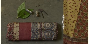 The Nutcracker's Tale ☰ Eri Silk Ajrakh Saree ☰ 15