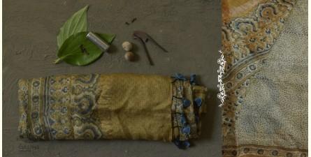 The Nutcracker's Tale ☰ Kota Silk Ajrakh Saree ☰ 1B