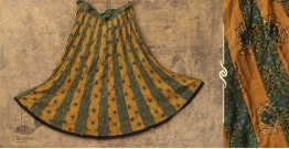 Flowers in a River ~ Ajrakh Skirt {Long}~ 13