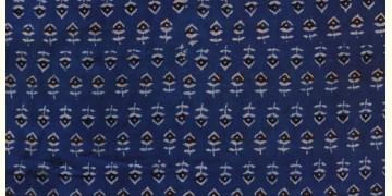 Ajrakh . Cotton Fabric ~ 8 { Per meter }