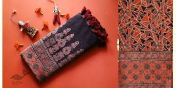 सखी ☙ Cotton Ajrakh Dupatta {14}