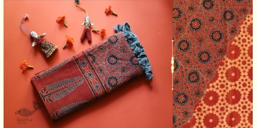 सखी ☙ Cotton Ajrakh Dupatta {18}
