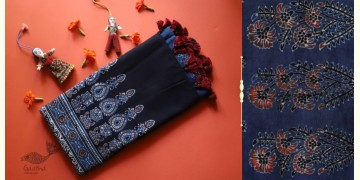 सखी ☙ Cotton Ajrakh Dupatta {19}
