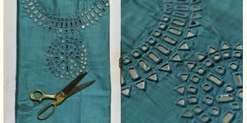 Saheli ☀ Embroidered Slub Silk Dress Material ☀ 33