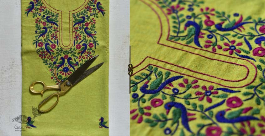Saheli ☀ Embroidered Cotton Dress Material ☀ 56