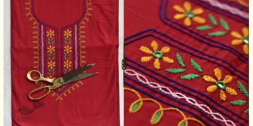 Saheli ☀ Embroidered Cotton Dress Material ☀ 69