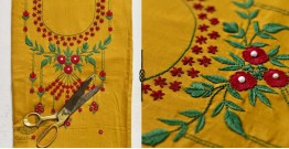 Saheli ☀ Embroidered Silk Dress Material ☀ 36