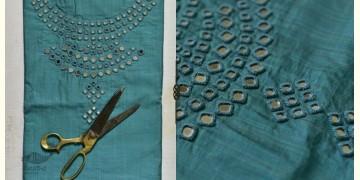 Saheli ☀ Embroidered Slub Silk Dress Material ☀ 32