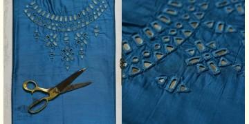 Saheli ☀ Embroidered Slub Silk Dress Material ☀ 34