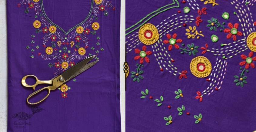 Saheli ☀ Rabari hand work - Gamthi Cotton Dress Material ☀ 68