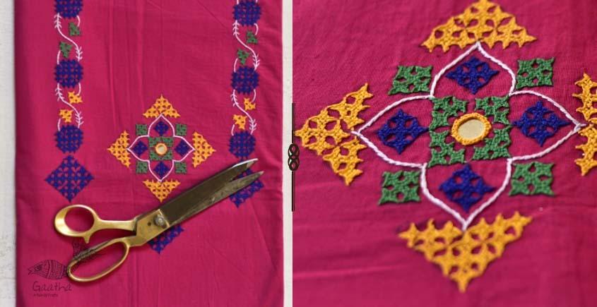 Saheli ☀ Rabari hand work - Gamthi Cotton Dress Material ☀ 70