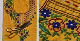 Saheli ☀ Embroidered Cotton Dress Material ☀ 64