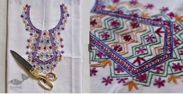 Saheli ☀ Embroidered Cotton Dress Material ☀ 2
