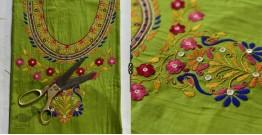 Saheli ☀ Embroidered Silk  Dress Material ☀ 6