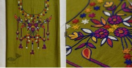 Saheli ☀ Embroidered Cotton Dress Material ☀ 1