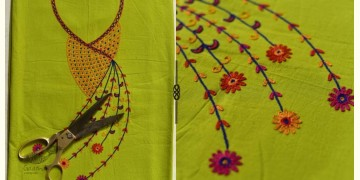 Saheli ☀ Embroidered Cotton Dress Material ☀ 15