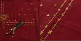 Saheli ☀ Embroidered Cotton Dress Material ☀ 16