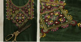 Saheli ☀ Embroidered Cotton Dress Material ☀ 21