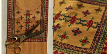 Saheli ☀ Embroidered Cotton Silk Dress Material ☀ 14