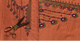 Saheli ☀ Embroidered Cotton Silk  Dress Material ☀ 17