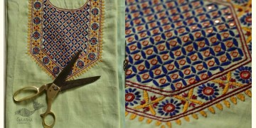 Saheli ☀ Embroidered Cotton Silk Dress Material ☀ 20