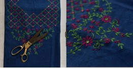 Saheli ☀ Embroidered Cotton Dress Material ☀ 5