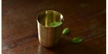 """Kansyam . कांस्यम ✾ Kansa Pyala / Glass - 3.7"""" x 3"""" x 3"""""""