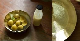 """Kansyam . कांस्यम ✾ Kansa Serving Bowl - 8"""" x 8"""" x 3.7"""""""