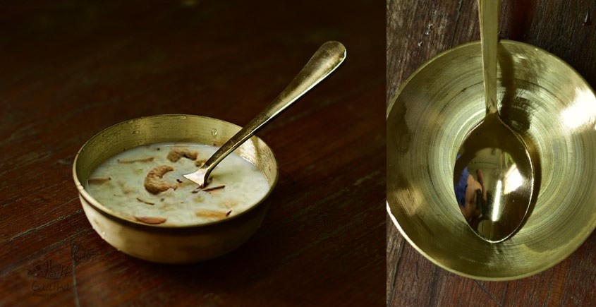 Shop online kansa Bowl with Spoon
