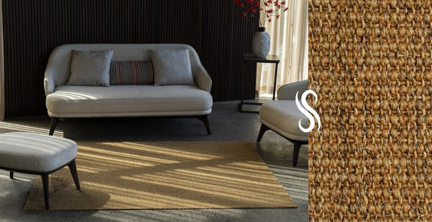 shop home decor Rug made from Sisal