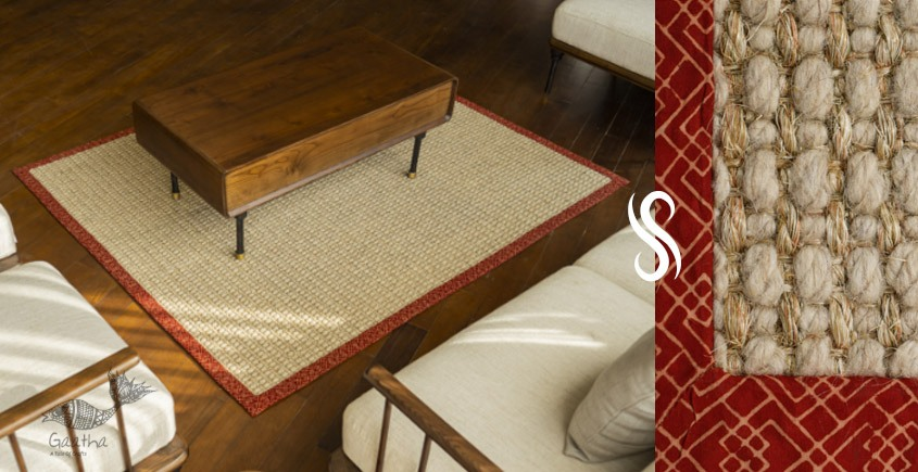 shop home decor Rug made from Sisal & Wool