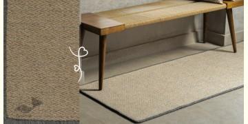 Elegance at your feet  ⚛ Upcycled Pet Yarn Floor Runner ⚛ 1