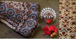 देविका ❋ Ajrakh Modal Silk Saree { with Blouse } ❋ 2