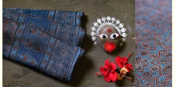 देविका ❋ Ajrakh Modal Silk Saree { with Blouse } ❋ 19