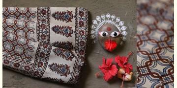 देविका ❋ Ajrakh Modal Silk Saree { with Blouse } ❋ 26