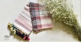 Gracious Grasslands  ☩ Kala Cotton Stole ☩ 5