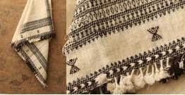 Salt Deserts of Kutch ❅ Hans spun ❅ Raw woolen Shawl ❅ F
