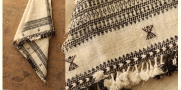 Salt Deserts of Kutch ❅ Hans spun ❅ Raw woolen Shawl ❅ F