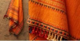 Salt Deserts of Kutch ❅ Hans spun ❅ Raw woolen Shawl ❅ C
