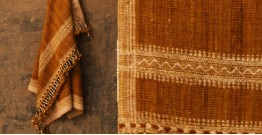 Salt Deserts of Kutch ❅ Hand spun ❅ Raw woolen Shawl ❅ B